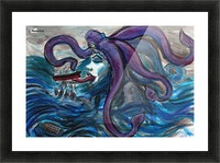 Sea Monster, 1 Picture Frame print
