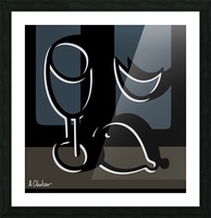 Still Life with a Goblet 1 Picture Frame print