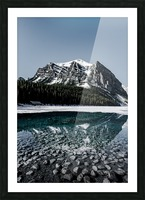 Lake Louise Reflection Picture Frame print