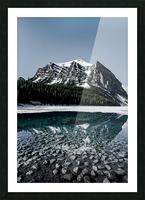 Lake Louise Reflection Impression et Cadre photo