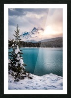 Winter Wonderland Picture Frame print