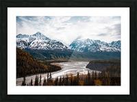 Autumn Landscape Impression et Cadre photo