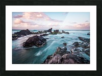 Pastel Waters Picture Frame print