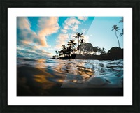 Lost at Sea Picture Frame print