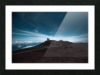 Haleakala at Night Picture Frame print