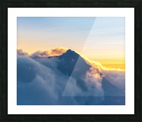 Alpine Glow Picture Frame print