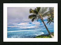 Hawaiian Landscape Picture Frame print