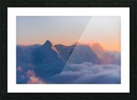 Pastel Peak Picture Frame print
