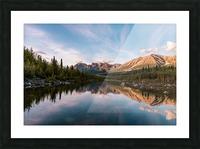 Alaskan Reflection Picture Frame print