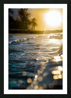 Glistening Waters Picture Frame print