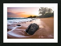 Smooth Shore Picture Frame print