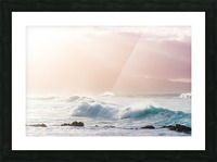 Light Waves Picture Frame print