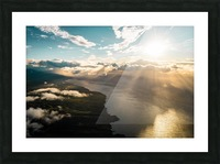 Maui From Above Picture Frame print