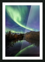 Aurora Reflections Picture Frame print