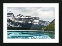 Winter Lake Picture Frame print