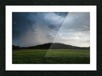 Evening Rain Picture Frame print