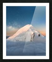 Starry Peak Picture Frame print