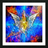 Fallen Angel Picture Frame print