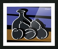 Still Life with a Vase Picture Frame print