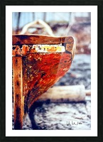 Boat - IV Picture Frame print