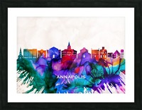 Annapolis Skyline Picture Frame print