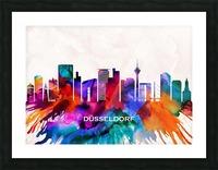 Dusseldorf Skyline Picture Frame print