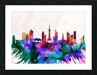 Foshan Skyline Picture Frame print