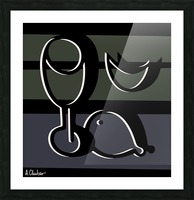Still Life with a Goblet 2 Picture Frame print