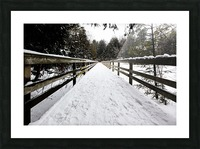 The Boardwalk Picture Frame print