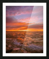 Fire and ICe Picture Frame print