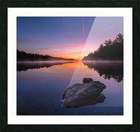 Magenta Magic Picture Frame print