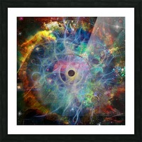 The Eye of Time Picture Frame print