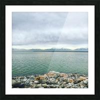 Great Salt Lake Shoreline Picture Frame print