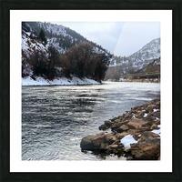 Colorado River Picture Frame print