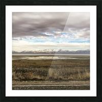 Great Salt Lake Picture Frame print