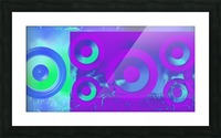 Music is energy Picture Frame print