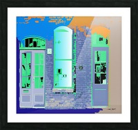 STORE FRONT by dePace Picture Frame print