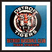 1963 Detroit Tigers Art  Picture Frame print