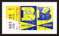 1955 UCLA  vs. Cal  Picture Frame print