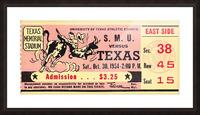 1954_College_Football_Texas vs. SMU_Texas Memorial Stadium_Austin_Row One Brand Picture Frame print