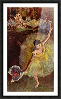 End of the arabesque by Degas Picture Frame print