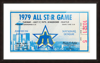 1979 Major League All-Star Game Seattle Picture Frame print
