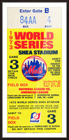 1973 World Series Picture Frame print
