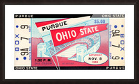 1958_College_Football_Purdue vs. Ohio State_Ohio Stadium_Row One Brand Picture Frame print