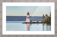 Baddeck Lighthouse Picture Frame print