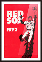 1972_Major League Baseball_Boston Red Sox_Fenway Park_Row One Brand Picture Frame print