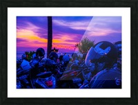 Echo Beach Picture Frame print