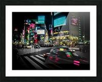Shibuya Shuffle Picture Frame print