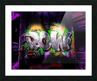 POW Picture Frame print