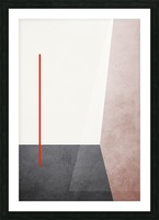 Shapes 04 - Abstract Geometric Art Print Picture Frame print